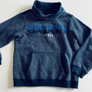 "3Pommes boys ""GALAXY"" sweatshirt"